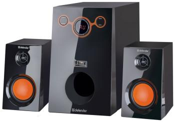 Акустика 2.1 Defender Sirocco M 30 (2.1/30 W/USB+SD+FM/black) 65131