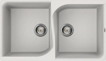 Кухонная мойка Elleci EGO 450  granitek (68) Bianco titano LGE 45068 мойка кухонная elleci ego 480 1000x500 granitek 62 lge48062