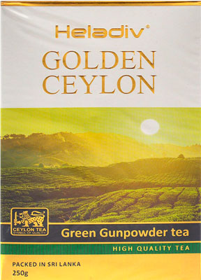 Чай зеленый HELADIV GC GREEN GUN POWDER TEA 250 g 2015 time limited bulk alpine stars matcha green tea powder roasted tea wholesale price premium green mass factory direct sales