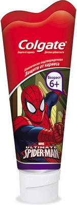 Зубная паста Colgate SpiderMan для детей от 6 лет 75 мл colgate optic white sparkling white whitening toothpaste 75 ml