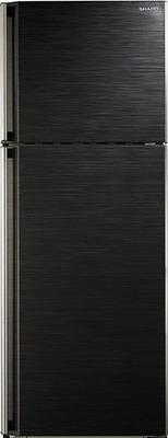 Двухкамерный холодильник Sharp SJ-58 C BK холодильник sharp sj b236zr wh белый