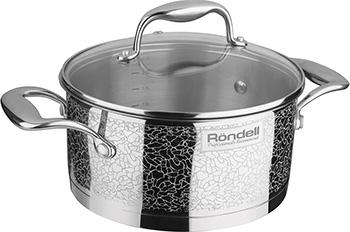 Кастрюля Rondell RDS-342 Vintage кастрюля rondell vintage rds 342 2л 18см стеклянная крышка нержавеющая сталь серебристый