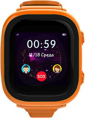 Детские часы-телефон EnBe EnBe Enjoy the Best Children Watch orange