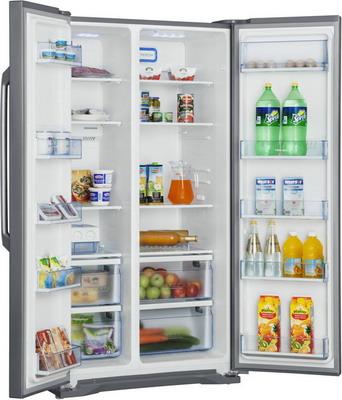 Холодильник Side by Side Shivaki SBS-615 DNFX холодильник side by side samsung rs 552 nrua9m wt