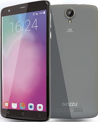 Мобильный телефон Ginzzu ST 6120 серый  цена и фото