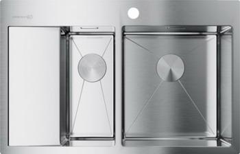 Кухонная мойка OMOIKIRI Akisame 78-2-IN-R нержавеющая сталь (4973063) omoikiri tovada oto 49 1 in