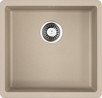 Кухонная мойка OMOIKIRI Kata 44-U-SA Artgranit/бежевый (4993423)
