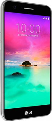 Мобильный телефон LG K 10 (2017) M 250 золотисто-черный смартфон fly nimbus 10 fs512 черный