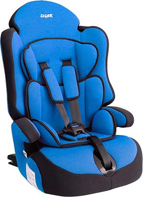 Автокресло Siger Прайм изофикс синий  9-36 кг siger автокресло наутилиус 0 18 кг siger голубой