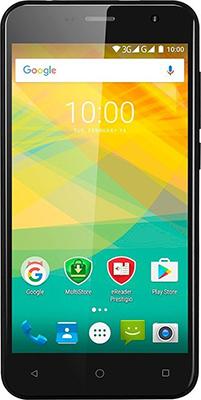 Мобильный телефон Prestigio Muze B3 Dual SIM Black мобильный телефон prestigio muze b3 dual sim black