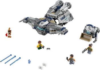 Конструктор Lego STAR WARS Звёздный Мусорщик 75147 конструктор бумажный star wars blueprints escape pod desert pack более 30 деталей