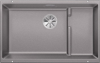Кухонная мойка BLANCO SUBLINE 700-U Level SILGRANIT алюметаллик с отв.арм. InFino 523540 blanco 700 u level 520666