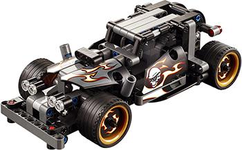 Конструктор Lego Technic Гоночный автомобиль для побега 42046-L lego technic конструктор гоночный автомобиль для побега