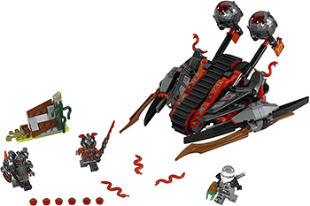 Конструктор Lego Ninjago Алый захватчик 70624-L