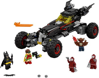 Конструктор Lego Batman Movie Бэтмобиль 70905 2017 lepin 07045 batman movie batmobile features robin man bat kabuki building block toys compatible with legoe batman 70905