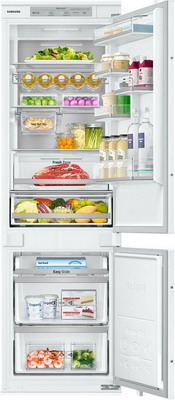 Встраиваемый двухкамерный холодильник Samsung BRB 260087 WW двухкамерный холодильник don r 295 b