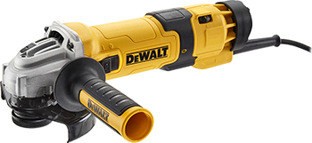Угловая шлифовальная машина (болгарка) DeWalt DWE 4257 мультитул реноватор dewalt dwe 315 kt