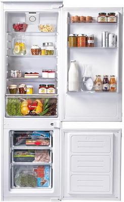 Встраиваемый двухкамерный холодильник Candy CKBBS 172 F встраиваемый холодильник candy ckbbs 172 f