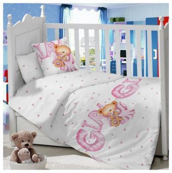 Комплект постельного белья Sweet Baby Orso Rosa kupi kolyasku комплект постельного белья lambministry kk вдохновение 7 предметов