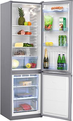 Двухкамерный холодильник Норд NRB 120 932 нержавеющая сталь холодильник beko rcnk365e20zx двухкамерный нержавеющая сталь