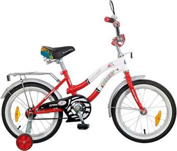 Велосипед Novatrack 16 Зебра  красно/белый 165 ZEBRA.RD6 велосипед novatrack a формула 16 2016 сине белый 167formula bl6