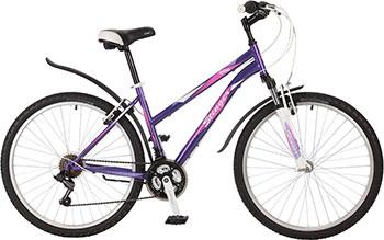 Велосипед Stinger 26 SHV.LATINA.17 VT7 26'' Latina 17'' фиолетовый велосипед stinger valencia 2017