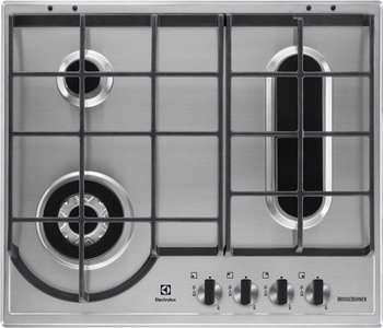 Встраиваемая газовая варочная панель Electrolux GPE 963 FX блок питания пк chieftec gpe 500s 500w gpe 500s