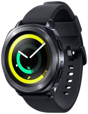 Умные часы Samsung Gear Sport SM-R 600 черный умные часы samsung gear sport black sm r600nzkaser