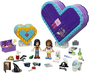 Конструктор Lego Большая шкатулка дружбы 41359 Friends figures houses girl friends stephanie mia olivia andrea emma andrea blocks learning toy gift compatible with with friends gift