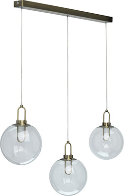 Люстра подвесная DeMarkt Кр/Kreis 657011203 3*5W LED 220 V резистор kiwame 5w 3 6 ohm