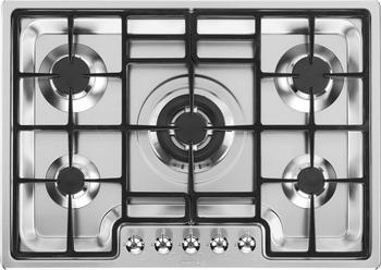 Встраиваемая газовая варочная панель Smeg PGF 75-4 smeg tssr02 держатель для сэндвичей для тостеров smeg на 4 хлебца