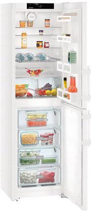 цены  Двухкамерный холодильник Liebherr CN 3915