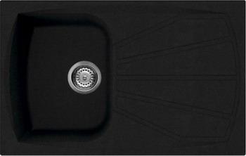 Кухонная мойка Smeg LSE 791 A-2 антрацит (GRANITEK) шатура smeg вытяжка kd90rw 2