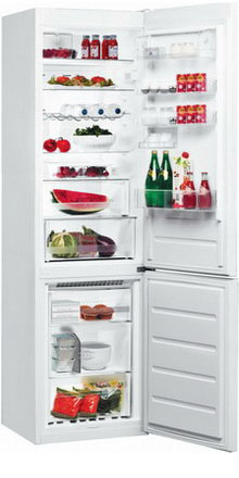 Двухкамерный холодильник Whirlpool BSNF 9152 W цена