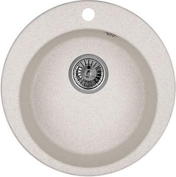 Кухонная мойка Weissgauff RONDO 480 Eco Granit светло-бежевый  weissgauff rondo 480 eco granit шампань