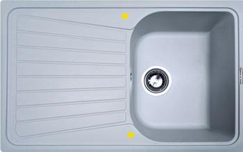 Кухонная мойка Zigmund amp Shtain KLASSISCH 790 млечный путь zigmund amp shtain integra 500 2 индийская ваниль