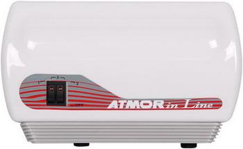 Водонагреватель проточный Atmor In line 12 кВт электрический проточный водонагреватель atmor new 7 квт кухня