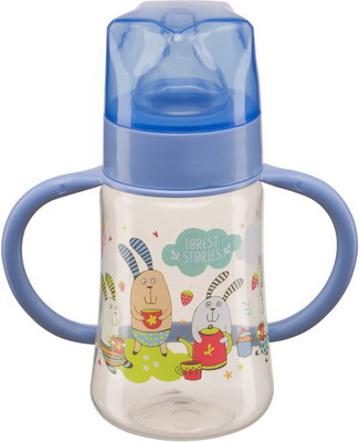 Набор для кормления детей Happy Baby BABY BOTTLE 10008 LILAC бутылочка для кормления happy baby с ручками и силиконовой соской baby bottle lilac 10008 широкое горлышко 250 мл