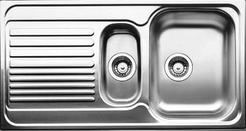 Кухонная мойка BLANCO TIPO 6 S нерж. сталь матовая  blanco tipo 8 compact нерж сталь матовая