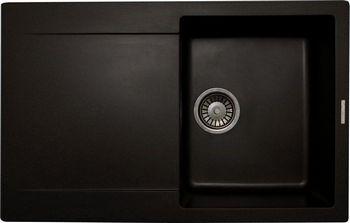 Кухонная мойка LAVA L.4 (BASALT чёрный) кухонная мойка lava l 2 basalt чёрный