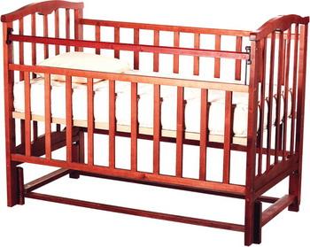 Детская кроватка Агат Золушка-5 вишня