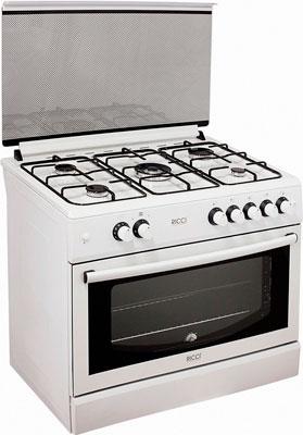 Газовая плита Ricci RGC 9000 WH газовая плита greta 1470 00 16 белая