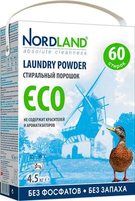 Стиральный порошок NORDLAND ECO 4.5кг стиральный порошок пемос 2кг