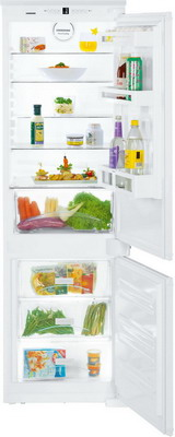 Встраиваемый двухкамерный холодильник Liebherr ICS 3334 встраиваемый двухкамерный холодильник liebherr icbp 3266 premium
