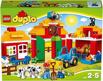 Конструктор Lego DUPLO TOWN Большая ферма 10525 конструктор lego 10813 большая стройплощадка
