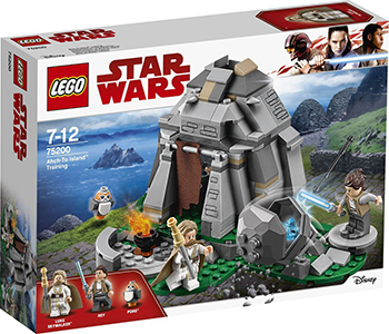 Конструктор Lego Star wars Тренировки на островах 75200 конструктор lego star wars боевой набор планеты татуин 75198