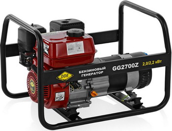 Электрический генератор и электростанция DDE GG 2700 Z электрический генератор и электростанция dde dpg 10553 e