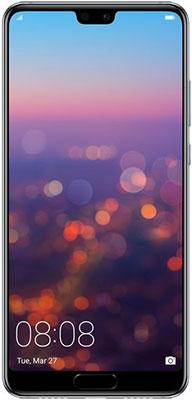 Мобильный телефон Huawei P 20 синий мобильный телефон huawei p smart 3 32 gb dual sim синий