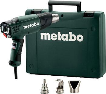 цена на Фен технический Metabo 602365500 HE 23-650 2300 вт дисплей кейс 2 насадки