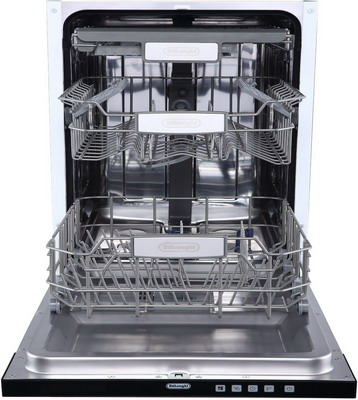 Полновстраиваемая посудомоечная машина DeLonghi DDW 06 F Zircone посудомоечная машина delonghi ddws09f quarzo